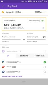 how to transfer phonepe gold cashback amount into bank